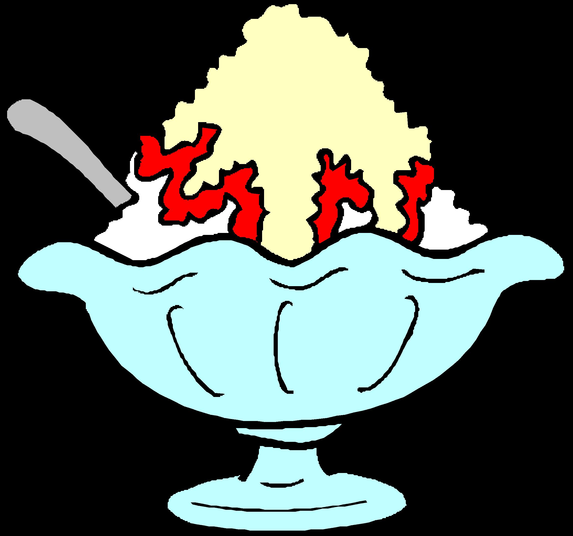 Ice Cream Sundae Bowl Template Ice Cream Sundae Template